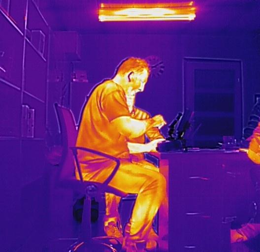 zdjęcie termowizyjne